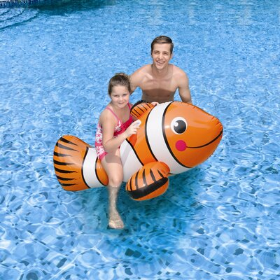 Blue Wave Products Clown Fish Ride-On Pool Toy