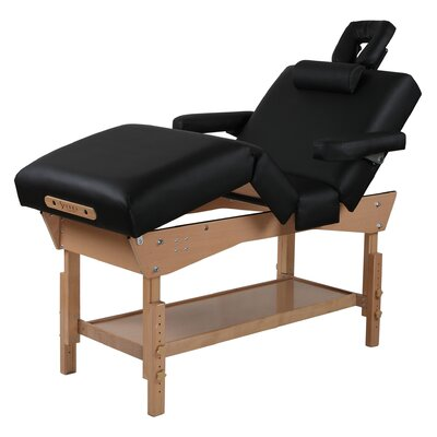 Adjustable 4-Section Stationary Massage Table by SierraComfort
