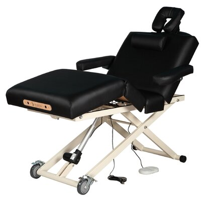 Adjustable 4-Section Electric Lift Massage Table by SierraComfort