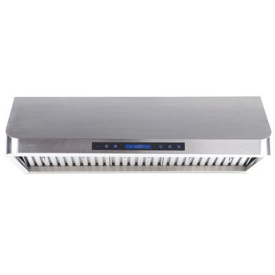 "29.5"" 385 - 900 CFM Under Cabinet Range Hood in Stainless Steel Product Photo"