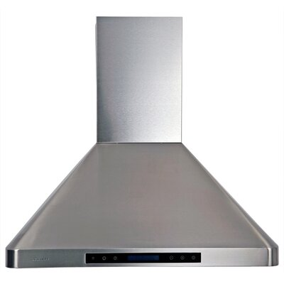 "30"" 280 - 900 CFM Wall Mount Range Hood in Stainless Steel Product Photo"