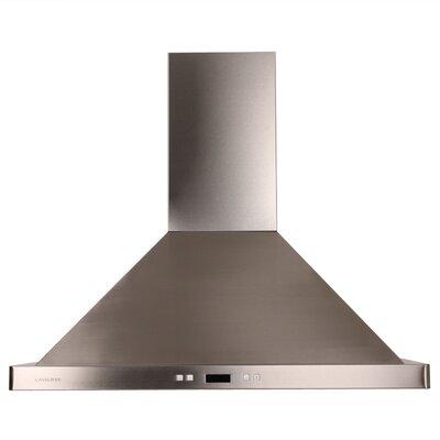 "36"" 900 CFM Island Range Hood in Stainless Steel Product Photo"