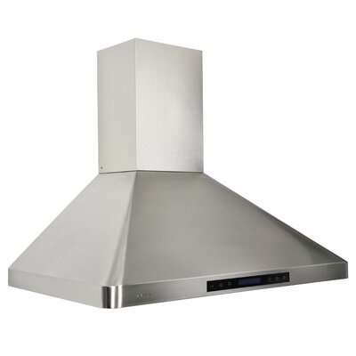 """36"""" 280 - 900 CFM Wall Mount Range Hood in Stainless Steel Product Photo"""