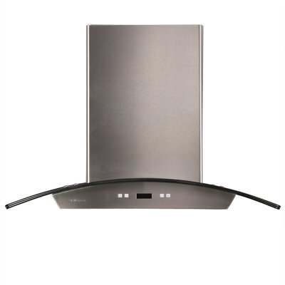 "36"" 900 CFM Island Range Hood in Stainless Steel Product Photo"