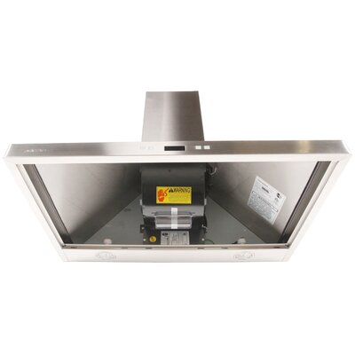 "Cavaliere 30"" 900 CFM Ductless Wall Mount Range Hood in Stainless Steel"