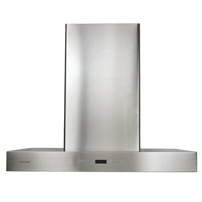 """36"""" 900 CFM Wall Mount Range Hood in Stainless Steel Product Photo"""