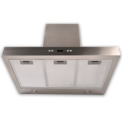 "Cavaliere 30"" 900 CFM Wall Mount Range Hood in Stainless Steel"