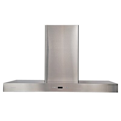 "42"" 900 CFM Island Range Hood in Stainless Steel Product Photo"