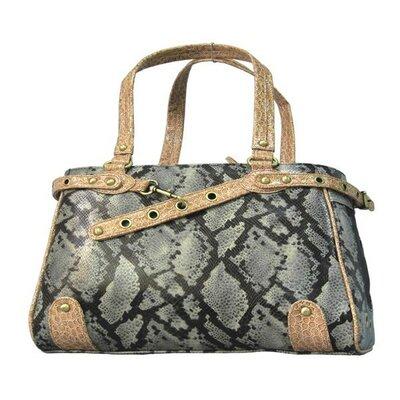 Snake Skin Handbag Pet Carrier by Backbone Pet