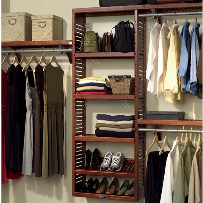 "12"" Deep Premier Closet Organizer Set Product Photo"