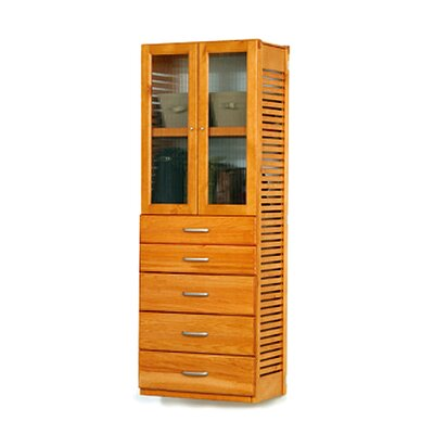 "16"" Deep Standalone Tower with Door and 5 Drawers Product Photo"