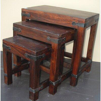 Ishu 3 Piece Nesting Table by Aishni Home Furnishings