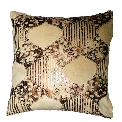 Fleur Design Decorative Throw Pillow by Violet Linen