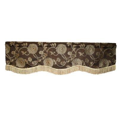 """Legacy Damask Design 60"""" Curtain Valance Product Photo"""