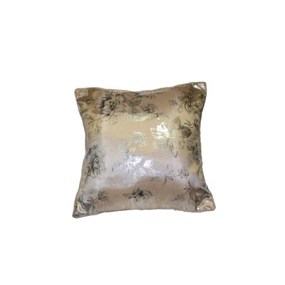 Silky Heritage Decorative Throw Pillow by Violet Linen