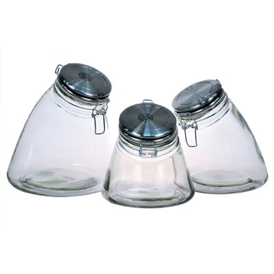 Global Amici Slope 3 Piece Jar Set