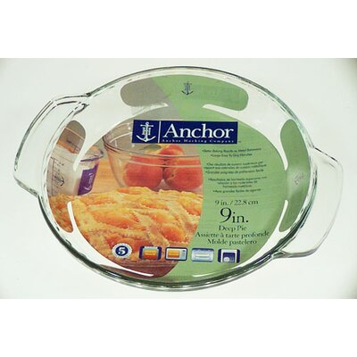 Anchor Hocking Deep Dish Pie Plate