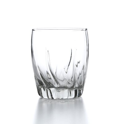 Starfire Crystal Double Rocks Old Fashioned Glass by Anchor Hocking