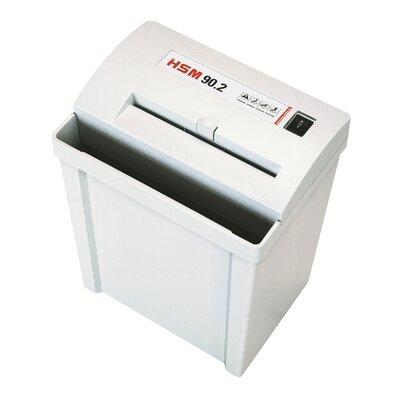 HSM of America,LLC HSM Classic 90.2 Strip-Cut Shredder, 14-16 Sheets, 6.6 Gallon Capacity