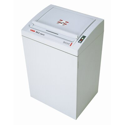 HSM of America,LLC HSM Classic 411.2 Level 5 High Security Micro-Cut Shredder, Optical Media Destruction, 2500 pieces/hour, 38.5 Gallon Capacity