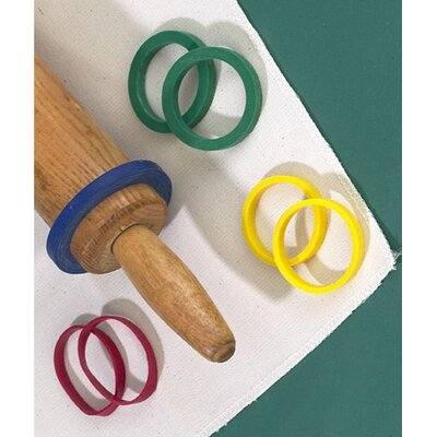 Thorpe Even Dough Rolling Pin Bands (Set of 4)