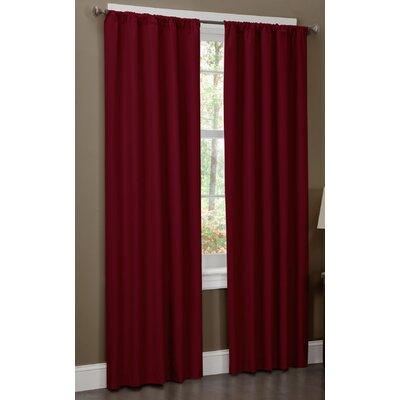 Maytex Microfiber Rod Pocket Curtain Panel