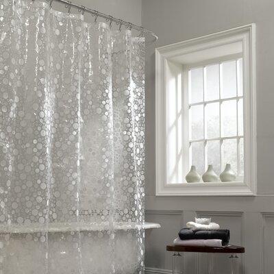 Ice Circles Vinyl Shower Curtain by Maytex