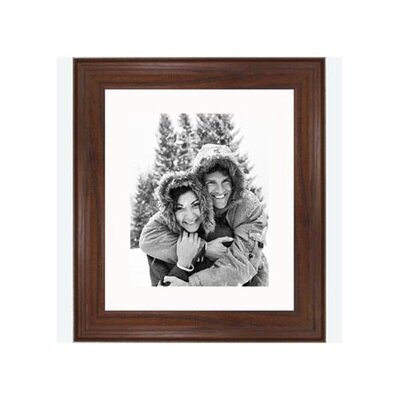 "Frames By Mail 8"" x 10"" Traditional Frame in Dark Walnut"