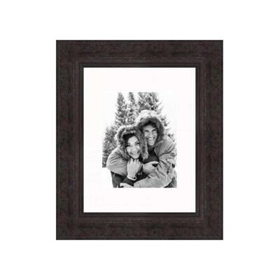 """Frames By Mail 8"""" x 10"""" Traditional Frame in Antique Mahogany"""