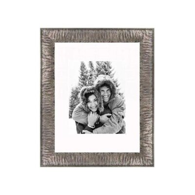 """Frames By Mail 11"""" x 14"""" Crinkled Frame in Silver"""