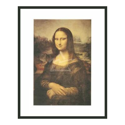 Frames By Mail 'Mona Lisa' by Da Vinci Framed Painting Print