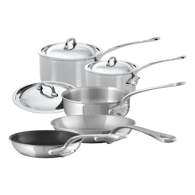 M'Cook 8 Piece Cookware Set by Mauviel
