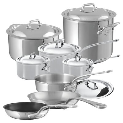 M'Cook 14 Piece Cookware Set by Mauviel