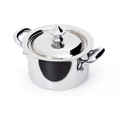 M'cook Stock Pot with Lid by Mauviel