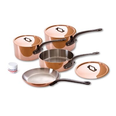 Mauviel M'Heritage Copper 7-Piece Cookware Set
