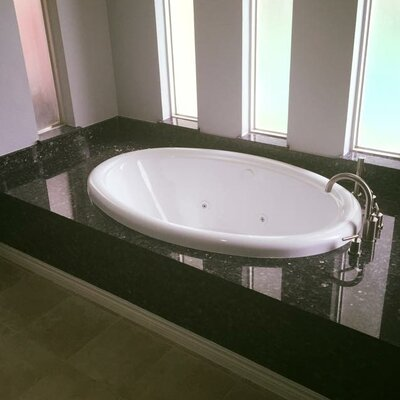 "58"" x 39"" Soaking Bathtub Product Photo"
