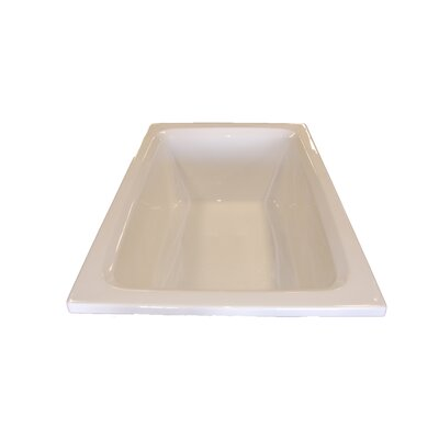 "60"" x 42"" Soaker Rectangular Bathtub Product Photo"