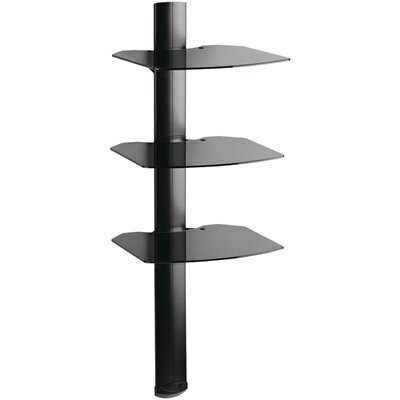 OmniMount 3 Shelf Wall System with Cable Management