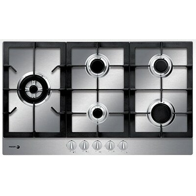 "33.86"" Gas Cooktop with 5 Burners Product Photo"