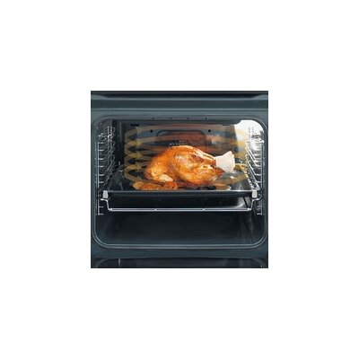 "23.25"" Electric Single Wall Oven in Silver Product Photo"