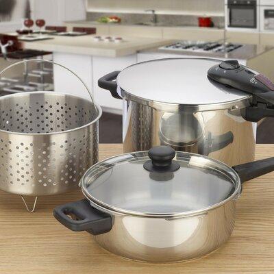 Fagor Splendid 5 Piece Multi-Pressure Cooker Set