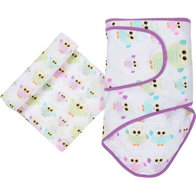 Owls 2 Piece Blanket Set by Miracle Blanket