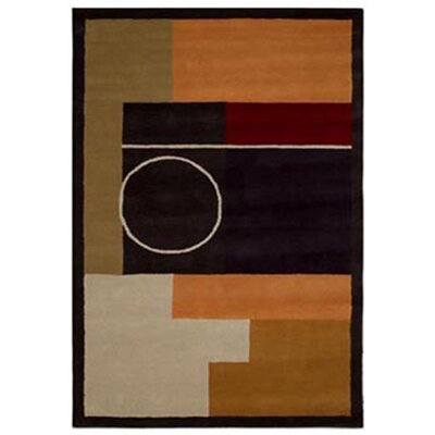 Acura Rugs Contempo Black Area Rug