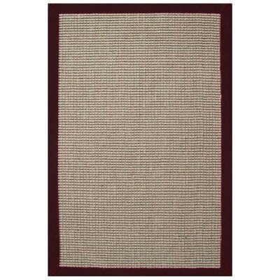 Acura Rugs Sisal Natural/Cherry Rug