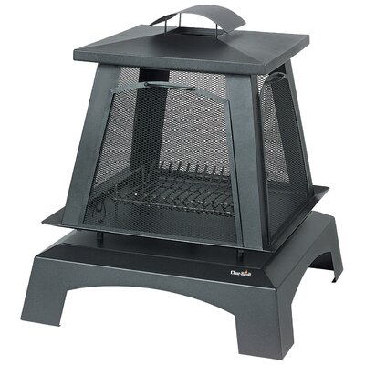 CharBroil Trentino Deluxe Outdoor Fireplace with Removable