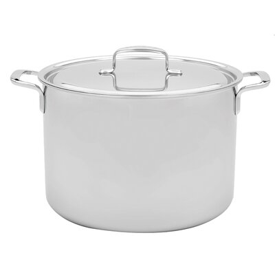 8-qt. Stainless Steel Stock Pot by Demeyere