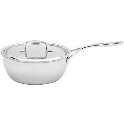 3.5-qt. Stainless Steel Saucier with Helper Handle by Demeyere