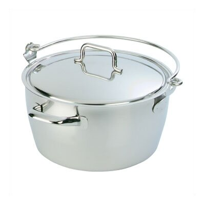 Resto 10.6-qt. Stock Pot with Lid by Demeyere