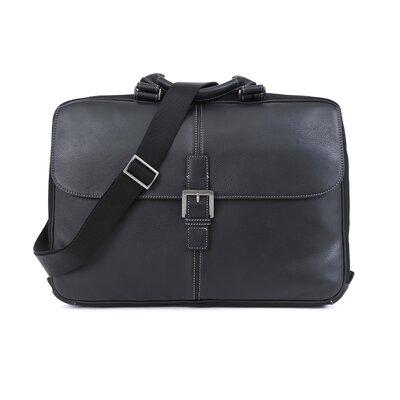 Tyler Tumbled Portfolio Leather Laptop Briefcase by Boconi