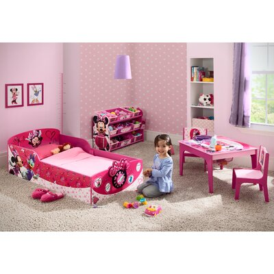 Minnie Mouse Interactive Wood Toddler Bed by Delta Children